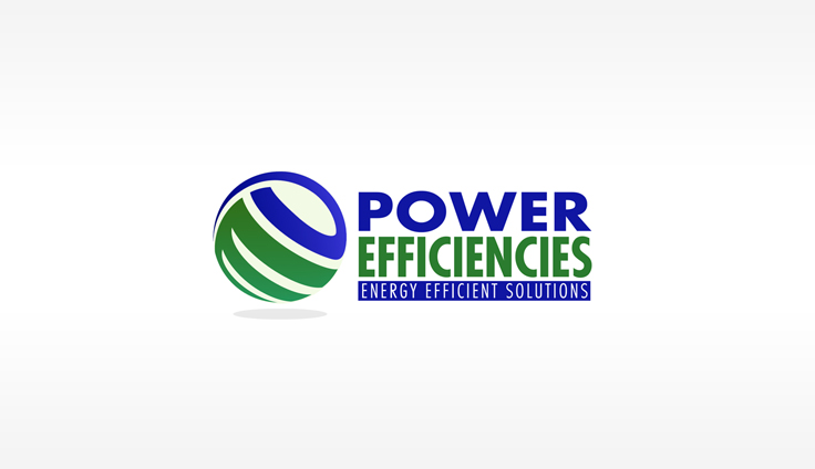 Power Efficiencies brand name and logo