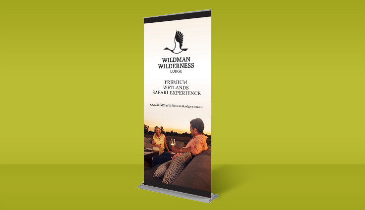 Pull up banner graphic design