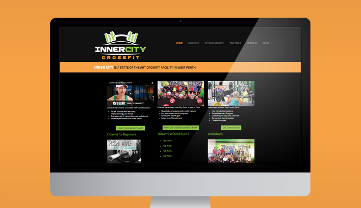 a small business website