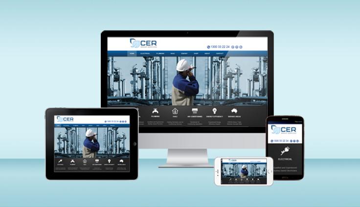 Mobile responsive website design by digital agency Sydney